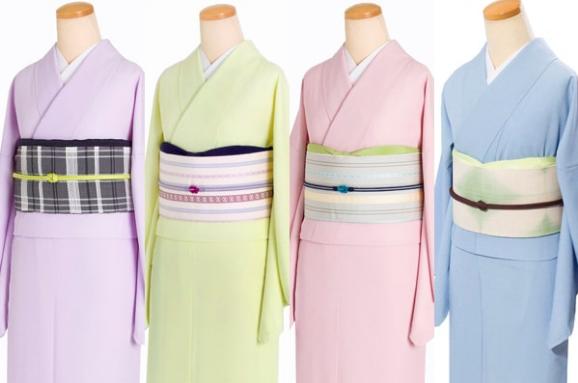 江戸小紋とは、無地に見えるほど細かい柄や模様が描かれている着物