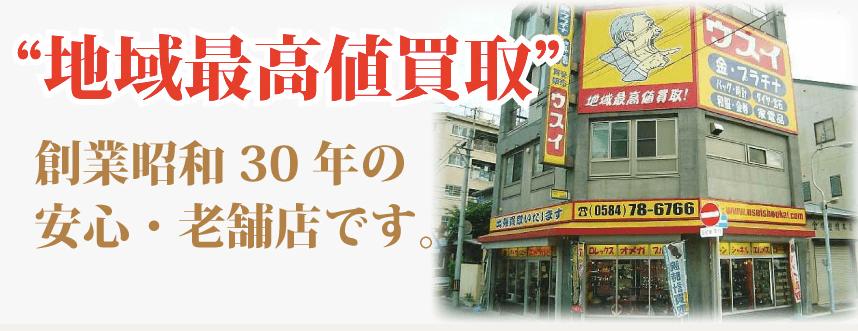 買取ウスイ商会 大垣店