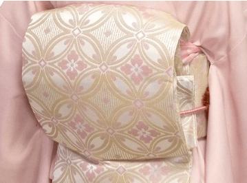 京袋帯の二重太鼓結び