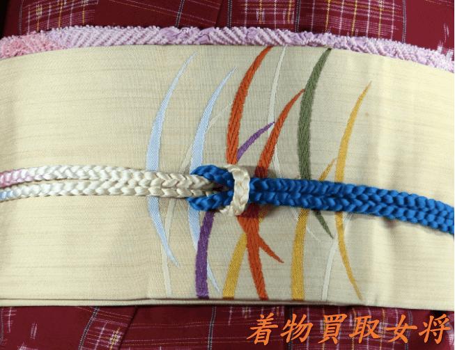 結城紬に合う帯