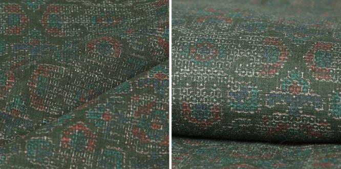 結城紬の模様や柄は亀甲が特徴