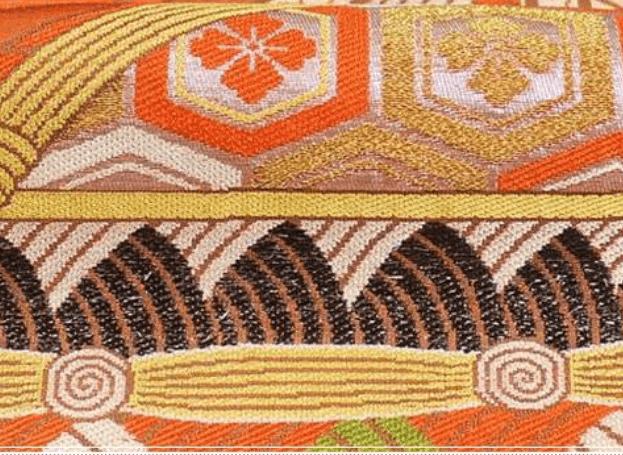 繻子織(別名:朱子織)