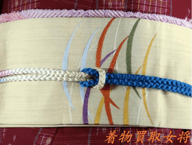 【コーディネート法】更紗模様の着物に合う帯