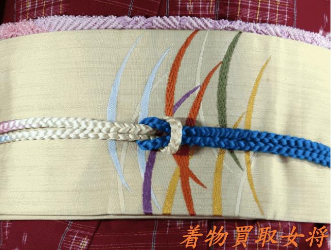 牛首紬に合う帯