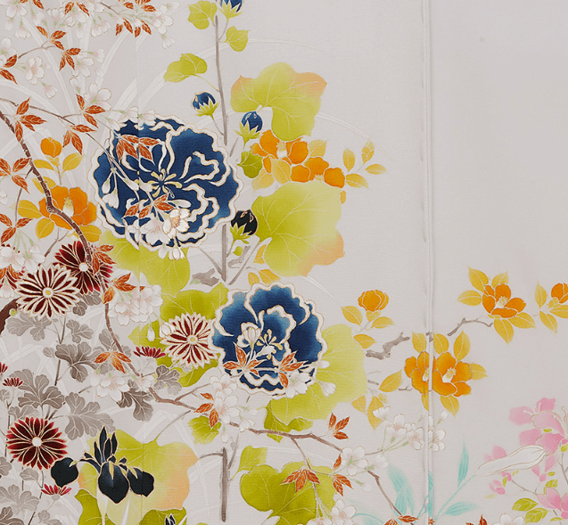 京友禅の絵柄や模様の特徴