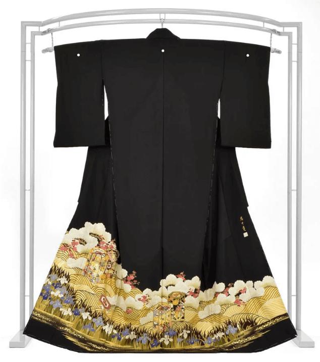 京友禅の黒留袖の価格値段相場