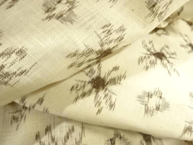 近江上布の柄や模様は絣が中心
