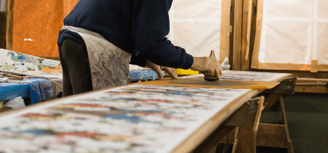 京友禅の作り方や製造工程